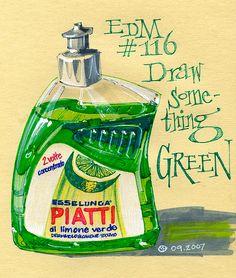 EDM #116 Draw something green by freekhand, via Flickr