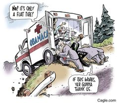 Only A Flat Tire by cartoonist Tim Eagan published on 2016-12-29 20:17:43 at Cagle.com. Tim Eagan has worked as an editorial cartoonist, produced comic books and draws the weekly comic strips Deep …