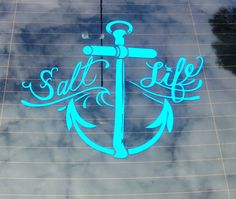 Salt life <3 my new sticker for the Jetta!