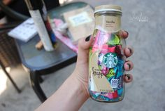 ♡Starbucks bottle full of candy♡ Tumblr Food, Tumblr Stuff, My Tumblr, Tumblr Girls, Chain Messages, Tumblr Quality, Just Girly Things, Tumblr Photography, Looks Cool