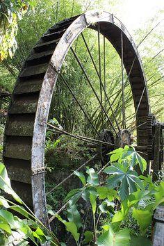 Arnos Vale Water Wheel