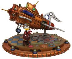 Steampunk Tendencies | Disney Design Group artists - Daisy