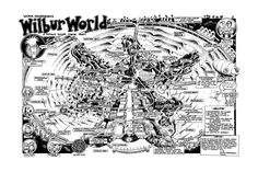 Surf Art: This high quality art poster print from Bob Penuelas's titled Wilbur World Theme Park is now available from Bob Penuelas's art portfolio collection. This image originally appeared in SURFER MAGAZINE, January Volume Surfer Magazine, Tag Image, Surf Art, Art Portfolio, Your Image, Surfing, How To Draw Hands, Bob, Park