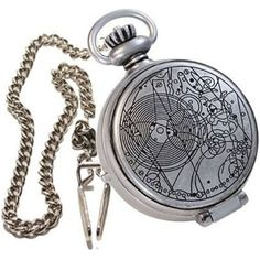 I've always wanted a pocket watch. But as I've aged and matured, I've realized what I really want is a Time Lord's pocket watch.