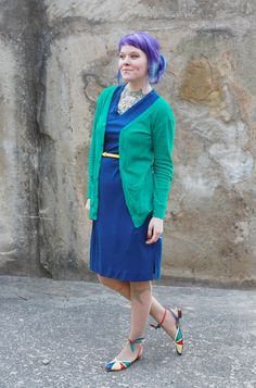 My favorite; this is a perfect daintysquid spring look (if the weather holds here I might have to copy this myself ... heh)
