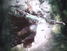 Banshee Queen Sylvanas Windrunner from World of Warcraft - Made by Eduardo Mosena
