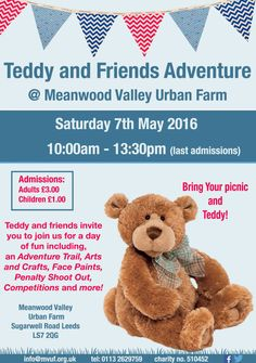 We spent Saturday morning doing an Adventure Trail at Meanwood Valley Urban Farm!