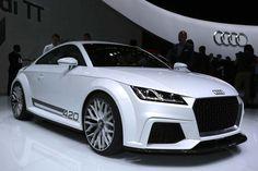 2015 Audi TT Coupe unveiled at 2014 Geneva Motor Show !