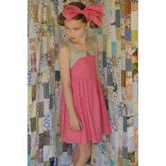 Ice Cream Girl Dress - Pink - Dresses - Girls