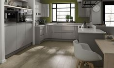 Remo Dove Grey kitchen