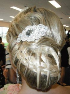Competition hair Www.thatblondechick.com.au