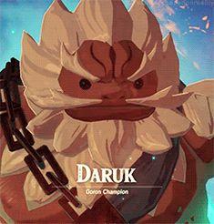 Goron Champion, Daruk
