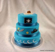 Gateau anniversaire pirates