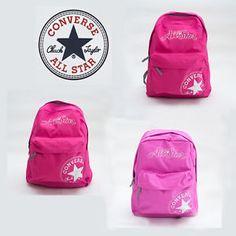 #ebay #shop #shopping #Online #Converse #Backpack #All #Star #Bag #Rucksack S#chool #Black #Genuine #White #Chuck #Taylor #pink