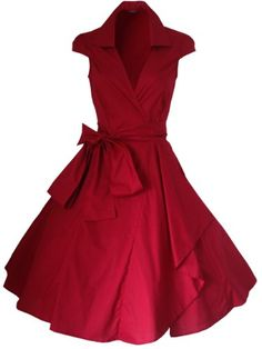 Robe de Soiree ,Vintage Rockabilly style,Retro Années 50, Jupe, Swing,Pin up ,Parfaite Pour Soiree Dansante, Taille 34-54 (42, Rouge) Look for the stars https://www.amazon.fr/dp/B00E0MAVMQ/ref=cm_sw_r_pi_dp_yGcfxbF0PVM9T