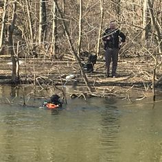 BERRIEN COUNTY, MI - On Tuesday April 10, 2018 Lieutenant Martin Kurtz and Undersheriff Chuck Heit were patrolling the Paw Paw River in efforts to locate the missing kayaker who was reported missing o