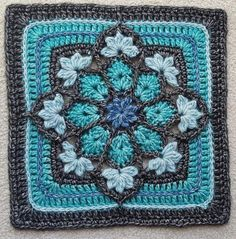 Winter Sky Crochet Blanket – F