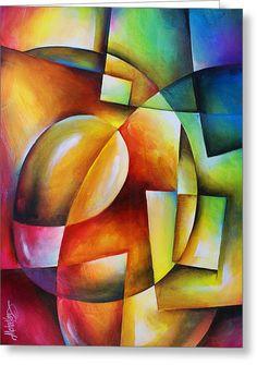 Abstract Painting - Evolution 2 by Michael Lang Oil Pastel Paintings, Oil Pastel Art, Modern Art Paintings, Oil Pastels, African Paintings, African Art, Cubism Art, Color Pencil Art, Geometric Art