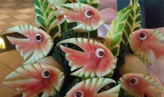 Watermelon Fish. This underwater scene was created for Royal Caribbean's Serenade of the Seas Alaska-bound cruise.