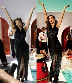 Jessica Alba, before and after Photoshop. #airbrush #fake #thin #famous #beauty #real #skinny