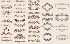 14 Cool Images of Free Vector Borders Vintage. Free Vintage Border Designs Free Vector Calligraphic Design Elements Vintage Vector Border Vintage Frame Border Design Vintage Borders and Frames Vectors Free Vector Files, Free Vector Graphics, Vector Art, Retro Vector, Vector Free Download, Free Vector Ornaments, Retro Design, Graphic Design, Floral Design