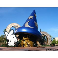 WDW Chronicles A Tip of the Sorcerer's Hat ❤ liked on Polyvore