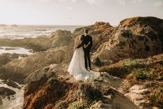 This beautiful couple eloped this week by the California redwoods and sweeping cliff side vistas. From a ceremony with their feet in the sand, first dance at the cliffs edge and lots of adventuring; it was a day full of memories. Flora Gibson Photography Big Sur California wedding and elopement photographer Big Sur California, California Wedding, First Dance, Beautiful Couple, Wedding Day, Cliff, Adventure, Flora, Wedding Dresses