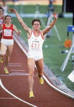 Jarmila Kratochvílová, still world record holder in the 800m.