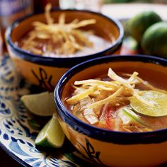 The fragrant limes that are abundant on the Yucatán peninsula make this soothing soup especially appealing.    More Soup Recipes   ...