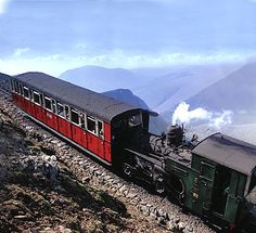 The Great Little Trains of Wales - the Snowdon Mountain Railway takes you to the summit, feel like you are on top of the world.