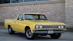1967 Chevrolet El Camino 283 CI, Automatic presented as lot T172. #Mecum #Houston #Cars