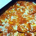 Copycat Maggiano's Four Cheese Ravioli with Pesto-Alfredo Sauce