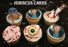Walking dead cupcakes theme