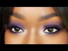 PURPLE Smoky Eyeshadow Tutorial