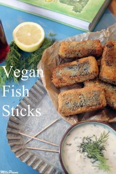 Vegan fish sticks ! | MllePrune