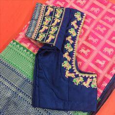Blouse Patterns, Saree Blouse Designs, Blouse Styles, Indian Blouse, Indian Wear, Mirror Work Blouse, Bastilla, Blouse Models, Blouse Outfit