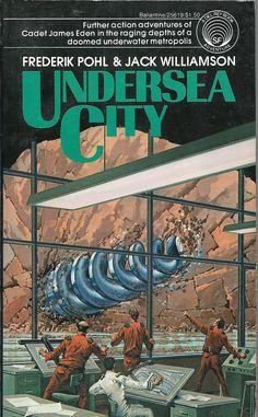Author: Frederik Pohl Publisher: Ballantine 25619 Year: 1977 Print: 2 Cover Price: $1.50 Condition: Fine Genre: Science Fiction