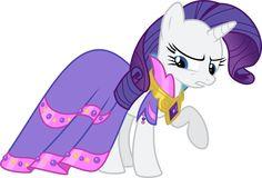 My+Little+Pony+vector+-+angry+Rarity+by+Krusiu42.deviantart.com+on+@deviantART