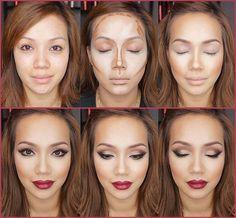 Yüz şekilleri, taşıdığı farklı yapı nedeniyle yapılan makyaj seçeneklerinde de farklılıklar oluştura