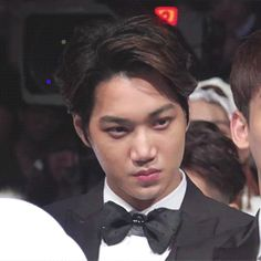 jongin reeling from the fact that they won artist of the year