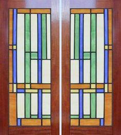 Frank Lloyd Wright Window Designs   ... Leaded Stained Glass Frank Lloyd Wright Abstract Windows Glass Design