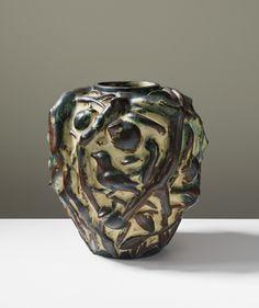 Avel Salto; Sung-Glazed Stoneware 'Sommervase' for Royal Copenhagen, 1970s.