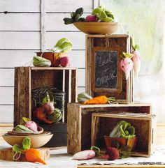 Roost Felted Veggie Ornament Collection – Modish Store