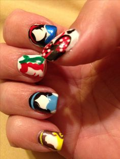 Disney nails by Marisol Gonzalez