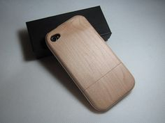 wooden iphone case, hand finished!