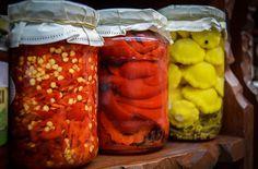 conserves maison légumes d'été