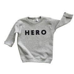 Sweater grijs Hero