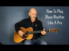 Blues guitar lesson: Playing rhythm & lead together - Guitar lesson by Joe Murphy Lead Guitar Lessons, Blues Guitar Lessons, Electric Guitar Lessons, Acoustic Guitar Lessons, Guitar Lessons For Beginners, Guitar Tips, Guitar Songs, Guitar Chords, Acoustic Guitars