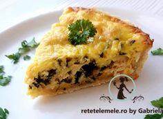 Tarta cu somon și spanac 1 Spanakopita, Quiche, Breakfast, Ethnic Recipes, Pie, Morning Coffee, Quiches