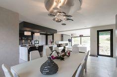 Décoration intérieur d\u0027une maison moderne , maison contemporaine T.PALM ,  TPALM ,